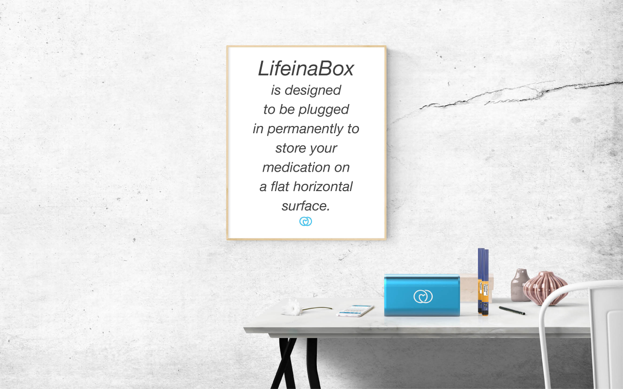 The ideal position for LifeinaBox